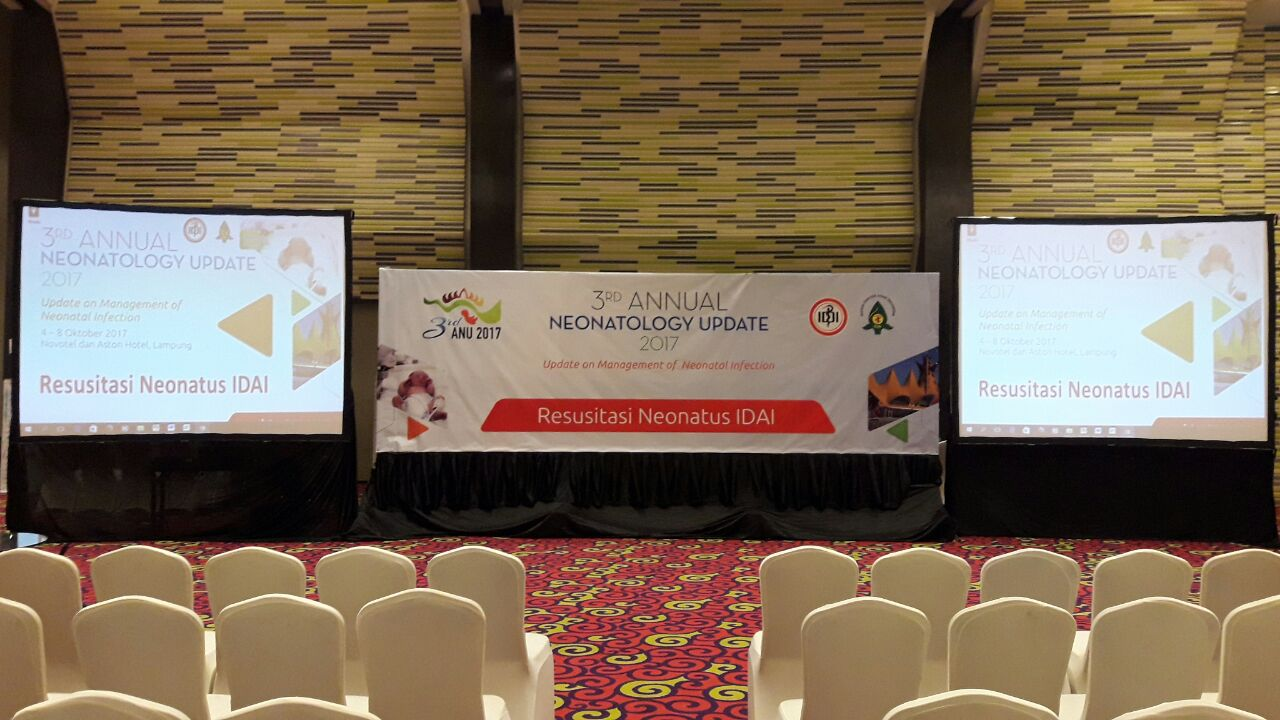 "OCTOBER 04,2017 3RD ANNUAL NEONATOLOGY UPDATE 2017 ""UPDATE ON MANAGEMENT NEONATAL INFECTION"" RESUSITASI NEONATUS IDAI"