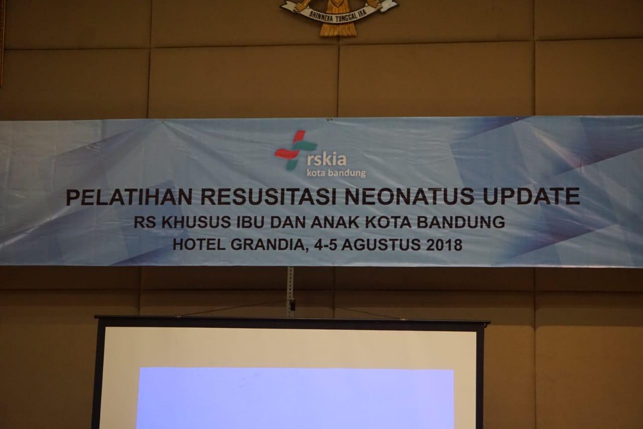 RESUSCITATION TRAINING NEONATUS UPDATE, Grandia Hotel BANDUNG, 4-5 Agustus 2018